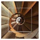 Dekoratif Uv Baskılı Elektrik Düğmesi Priz Kapı Zili Merdiven 3d