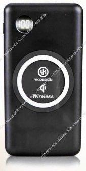 Yk Design X9 10.000 Mah Kablosuz Hızlı Şarj,göstergeli Powerbank