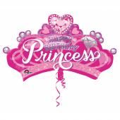 1 Adet Kikajoy Taç Şekilli Happy Birthday Princess Folyo Balon