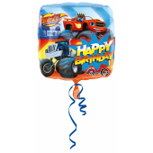 1 Adet Kikajoy Blaze And The Monster Machines Folyo Balon 45 Cm