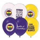 100 Adet Çift Taraflı Fenerbahçe Baskılı Balon