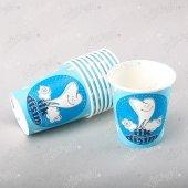 16 Adet Kikajoy İlk Dişim Çıktı Mavi Karton Bardak