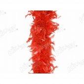 Kırmızı Renk Kikajoy Boa Otriş