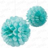 Kikajoy Dekoratif Top Süs İkili Mavi