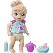 ışıltılı Bebeğim (Işıklı) Baby Alive B6051 Orijinal Lisanslı Ürün