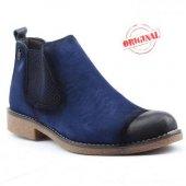 Antioch Fs Mavi 100 Deri Erkek Bot Ayakkabı Günlük