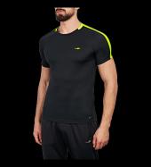 Lescon 18b 1025 Siyah Sıfır Yaka Kısa Kol Erkek Futbol Tişört