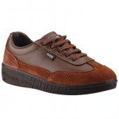 Gezer 01546 Kahverengi İş Güvenlik Orjinal Erkek Ayakkabı