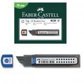 Faber Castell Süper Fine Min Versatil Kalem Ucu 2b 0.7 75 Mm 5090