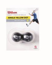 Wilson Squash Topu Staff 2 Yel Dot Wrt617800