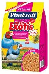 Vitakraft Premium Menü Vital Balli Egzotik Kuş Yemi 500 Gr