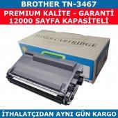 Brother Tn 3467 Siyah Muadil Toner 12.000 Sayfa