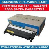 Samsung Clp365 Clp360 Clt Y406s Sarı Muadil Toner 1.000 Sayfa