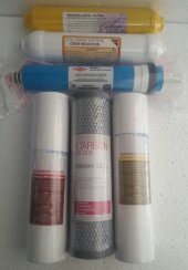 Su Arıtma Filtre Seti 6 Lı Çift Spun,filmtec Membran,mineralli