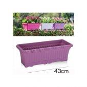 Homecare Balkon Saksı Eflatun Renk 423522