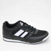 Jump 13011 K Siyah Beyaz Erkek Spor Ayakkabı