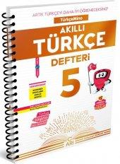 Arı Yayınları 5.sınıf Türkçemino Akıllı Türkçe Defteri