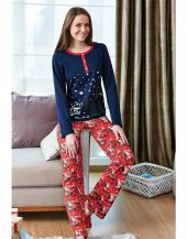 Eros 9460 Modal Pamuk Uzun Kol Bayan Pijama Takım