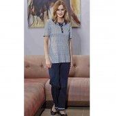 Eros 1072 100 Pamuk Bayan Pijama Takım