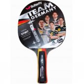 Butterfly Team Germany Spirit Ittf Onaylı Masa Tenisi Raketi (85091)