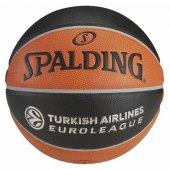 Spalding Turkish Airlines Euro League Basketbol Topu No 7 Topbskspa234