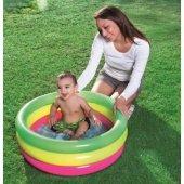 Bestway 51128 Çocuk Bebek Şişme Havuz 70 Cm Çap