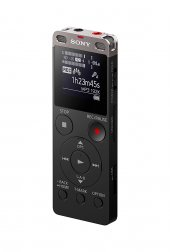 Sony Icdux560blk Stereo Digital Voice Recorder With Built İn Usb