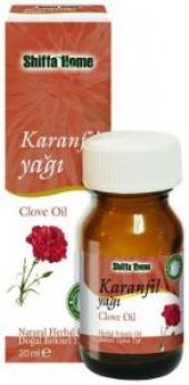 Aksuvital Shiffa Home Karanfil Yağı 20 Ml