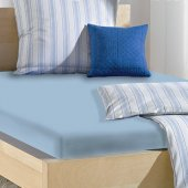 Açelya Home Mavi Tek Kişilik 120x200 Cm Çarşaf Seti