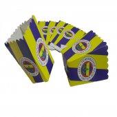 10lu Fenerbahçe Lisanslı Sarı Lacivert Mısır İkram Kutusu
