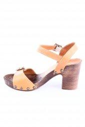 Dgn 172002 Bayan Bilekten Bağlı Takunya Taban Sandalet Int 59