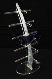 Pleksi Yelken Gözlük Standı Metalik