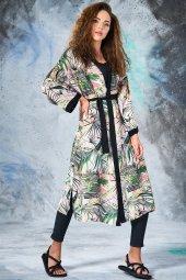 Eda Atalay Kimono Siyah 4904 01