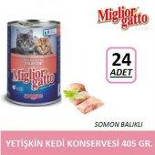Miglior Gatto Somonlu Yetişkin Kedi Konservesi 405 Gr