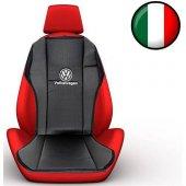 Simoni Racing Volkswagen Yazılı Deri Araç Koltuk Minderi