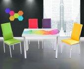 Renkli Mutfak Masa Takımı