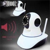 Kingboss İp 26 Hd 360 Derece Hareket Sensörlü Ip Bebek Ve Güvenli
