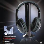Kablosuz Wireless 5 İn 1 Oyun Tv Mp3 Kulaklık