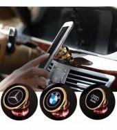 Logolu Araç İçi 360 Derece Dönebilen Mıknatıslı Telefon Tutucu