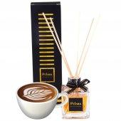 Pelara Coffee Latte Bambu Çubuklu Ortam Kokusu Oda Kokusu 100 Ml