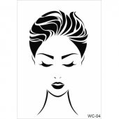 Wc4 Woman Collection Cadence A4 Stencil
