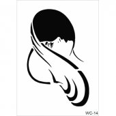 Wc14 Woman Collection Cadence A4 Stencil