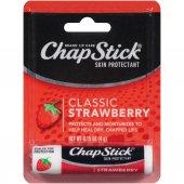 Chapstick Classic Strawberry Skin Protectant Lip B