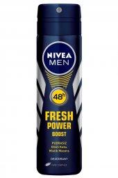Nivea Deo Sprey Fresh Power Boost 150 Ml Erkek
