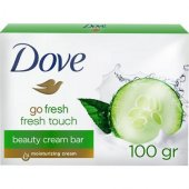 Dove Cream Bar Sabun 100 Gr Go Fresh Touch Salatalık