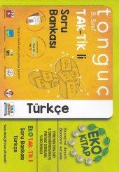 Tonguç Akademi 8. Sınıf Tak Tik Li Türkçe Soru Bankası Eko Kitap