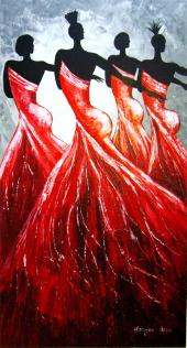 Piart Galeri Orijinal 70*130cm Yağlı Boya Tablo