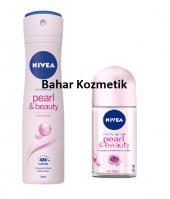 Nivea Pearl & Beauty Sprey 150ml Kadın + Roll On 50 Ml