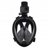 Aksiyon Kamera Takılabilir Antifog Şnorkel Maskesi Deniz Gözlüğü