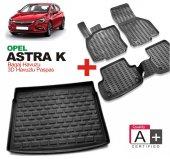 Opel Astra K 3d Havuzlu Oto Paspas Ve Bagaj Havuzu